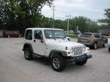 2000 Jeep Wrangler Stone White