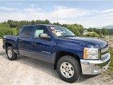 2013 Blue Topaz Metallic Chevrolet Silverado 1500 LT Crew Cab 4x4 #81540473