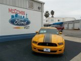 2013 School Bus Yellow Ford Mustang Boss 302 #81540110