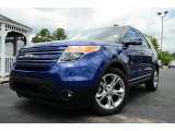 2013 Deep Impact Blue Metallic Ford Explorer Limited #81540434