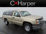 2005 Sandstone Metallic Chevrolet Silverado 1500 Regular Cab 4x4 #81540526