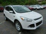 2013 White Platinum Metallic Tri-Coat Ford Escape SEL 2.0L EcoBoost 4WD #81540191