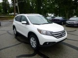 2013 White Diamond Pearl Honda CR-V EX-L AWD #81540509