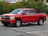 2011 Victory Red Chevrolet Silverado 1500 LTZ Crew Cab 4x4 #81540358
