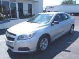 2013 Silver Ice Metallic Chevrolet Malibu LS #81584222