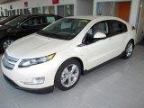 2013 White Diamond Tricoat Chevrolet Volt  #81583803