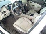 2013 Chevrolet Volt  Pebble Beige/Dark Accents Interior