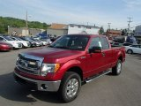 2013 Ruby Red Metallic Ford F150 XLT SuperCab 4x4 #81584106
