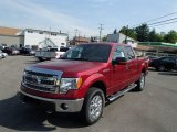 2013 Ruby Red Metallic Ford F150 XLT SuperCrew 4x4 #81584104