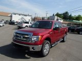 2013 Ruby Red Metallic Ford F150 XLT SuperCrew 4x4 #81584103