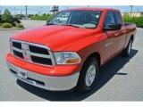 2012 Flame Red Dodge Ram 1500 SLT Quad Cab #81583976
