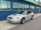2002 Satin Silver Metallic Ford Mustang GT Convertible #81584196