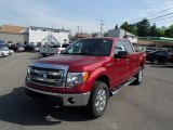2013 Ruby Red Metallic Ford F150 XLT SuperCrew 4x4 #81584099