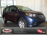 2013 Twilight Blue Metallic Honda CR-V LX #81583481