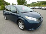 2011 South Pacific Blue Pearl Toyota Sienna LE #81583967