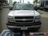 2005 Silver Birch Metallic Chevrolet Silverado 1500 LS Crew Cab #81583673