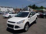 2013 White Platinum Metallic Tri-Coat Ford Escape SE 2.0L EcoBoost 4WD #81584081