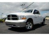 2011 Bright White Dodge Ram 1500 SLT Quad Cab 4x4 #81583864