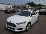 2013 White Platinum Metallic Tri-coat Ford Fusion SE 1.6 EcoBoost #81584072