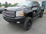 2013 Black Chevrolet Silverado 1500 LT Extended Cab 4x4 #81583552