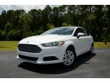 2013 Oxford White Ford Fusion S #81583857