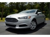 2013 Ingot Silver Metallic Ford Fusion S #81583855