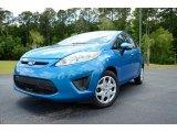 2013 Blue Candy Ford Fiesta SE Hatchback #81583852