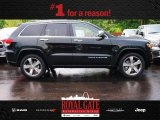 2014 Black Forest Green Pearl Jeep Grand Cherokee Overland 4x4 #81583542