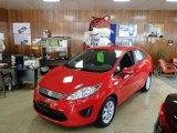 2013 Race Red Ford Fiesta SE Sedan #81584065