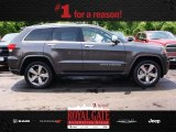 2014 Maximum Steel Metallic Jeep Grand Cherokee Overland 4x4 #81583541
