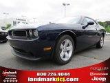 2013 Jazz Blue Pearl Dodge Challenger SXT #81583631