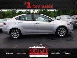 2013 Bright Silver Metallic Dodge Dart Limited #81583536