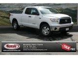 2013 Super White Toyota Tundra SR5 TRD Double Cab 4x4 #81583436