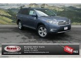 2013 Shoreline Blue Pearl Toyota Highlander Limited 4WD #81583433