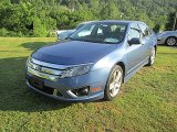 2010 Sport Blue Metallic Ford Fusion Sport #81583838