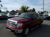 2013 Ruby Red Metallic Ford F150 XLT SuperCab 4x4 #81584128