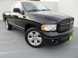 2004 Black Dodge Ram 1500 Sport Regular Cab #81583713