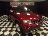 2014 Deep Cherry Red Crystal Pearl Jeep Grand Cherokee Limited #81634534