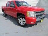 2009 Victory Red Chevrolet Silverado 1500 LT Crew Cab #81634417