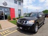 2012 Galaxy Black Nissan Armada Platinum 4WD #81634523