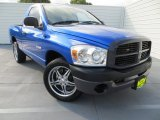 2008 Electric Blue Pearl Dodge Ram 1500 ST Regular Cab #81634416