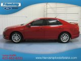 2010 Red Candy Metallic Ford Fusion SEL V6 #81634221