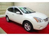 2013 Pearl White Nissan Rogue SV #81634306