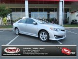 2013 Classic Silver Metallic Toyota Camry SE #81634618