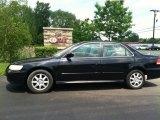 2002 Nighthawk Black Pearl Honda Accord SE Sedan #81634514