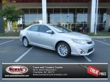 2013 Classic Silver Metallic Toyota Camry XLE #81634615