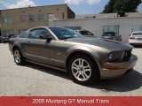 2005 Mineral Grey Metallic Ford Mustang GT Premium Coupe #81634410