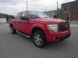 2010 Vermillion Red Ford F150 STX SuperCab 4x4 #81634818