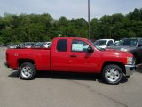 2013 Victory Red Chevrolet Silverado 1500 LT Extended Cab 4x4 #81634371