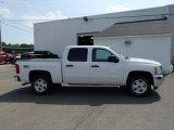 2013 Summit White Chevrolet Silverado 1500 LT Crew Cab 4x4 #81634370